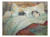 La cama Lámina giclée por Henri de Toulouse-Lautrec