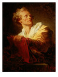Portrait of an Artist Giclee Print by Jean-Honor&#233; Fragonard
