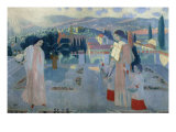 Annunciation at Fiesole Giclee Print by Maurice Denis