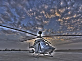 Seven Exposure HDR Image of a Stationary Kiowa OH-58D Helicopter Photographic Print by  Stocktrek Images
