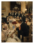 The Reception Giclee Print by Jean Béraud