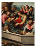 Burial of Saint Stephen Giclee Print by Juan Juanes