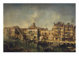 View of the Grand Canal Giclee Print by Michele Marieschi