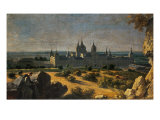 View of El Escorial Monastery Giclee Print by Michel-ange Houasse