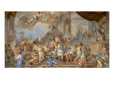 Expulsion of Heliodorus from the Temple Giclee Print by Francesco Solimena