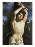 St. Sebastian Giclee Print by Guido Reni