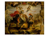 Achille and Hector, 1630 Giclee Print by Peter Paul Rubens