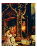 Isenheim Altar, Allegory of the Nativity Giclee Print by Matthias Gruenewald