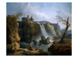 The Fall of Tivoli, 1769 Giclee Print by Hubert Robert