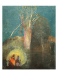 Flight into Egypt Giclee Print by Odilon Redon