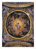 Vision of Saint John the Evangelist Giclee Print by Correggio