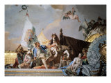 Glory of Spain (detail) Giclee Print by Giambattista Tiepolo