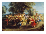 Peasant Dance Giclee Print by Peter Paul Rubens