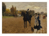 The Amazon Giclee Print by Giuseppe De Nittis