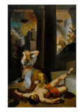 Destruction of the Temple at Jerusalem Giclee Print by Giovanni Silvagni