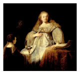 Artemisia Giclee Print by  Rembrandt van Rijn