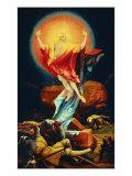 Isenheim Altar, Resurrection Giclee Print by Matthias Gruenewald
