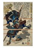 A Samurai Giclee Print by Kuniyoshi Utagawa