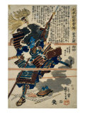 A Samurai Giclee Print by Utagawa Kuniyoshi