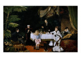The Breakfast, 1877 Giclee Print by Louise Abbema