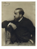 Portrait of R. Levicky Giclee Print by Ilya Efimovich Repin