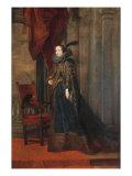 Portrait of Paolina Adorno Brignole Sale Giclée-Druck von Anthony Van Dyck