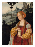 Triptych with Adoration of the Magi, 1515 Giclee Print by Joos Van Cleve