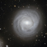 Spiral Galaxy NGC 4921 Photographic Print by Stocktrek Images 