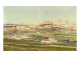 Prairie of St. Isidro Giclee Print by Aureliano De Beruete