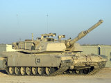 M1 Abram Tank at Camp Warhorse Photographic Print by Stocktrek Images