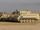M113 Varient at Camp Warhorse Photographic Print by Stocktrek Images