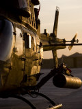OH-58D Kiowa During Sunset Photographic Print by  Stocktrek Images