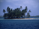 One of the Many Small Islands Off of the Coast of Panama Photographic Print by Marcia Kebbon
