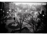 Scott Circle Seen from a Hotel Window, Washington, District of Columbia Photographic Print by Randy Olson