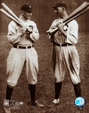 Ty Cobb and Shoeless Joe Jackson Poster