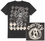 Sanctify - Argyle and Iron T-Shirt