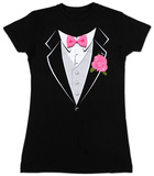 Women's: Tuxedo T-paita