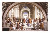 École d'Athènes Affiches