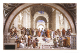 School Of Athens Plakater
