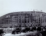 Yankee Stadium - outside/sepia - ©Photofile Print