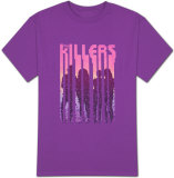The Killers - Silhouette Dots T-paita