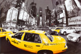 Rush Hour Times Square Print