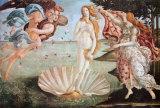 Geburt der Venus – Lila Kunstdrucke von Sandro Botticelli