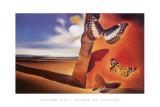 Paysage Aux Papillon Prints