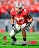 James Laurinaitis Ohio State Buckeyes 2007 Action Photo