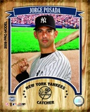 Jorge Posada 2009 Studio Plus Photo