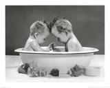 Dos bebés Láminas por H. Armstrong Roberts