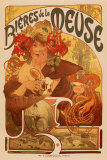 Mucha - Bieres de la Meuse Posters