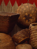 Northwest Native American Tribe Baskets, Collected by Edward Curtis, Seattle, Washington Photographic Print by Lynn Johnson