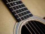 Close View of a Guitar, Annapolis, Maryland, United States Photographic Print by Taylor S. Kennedy